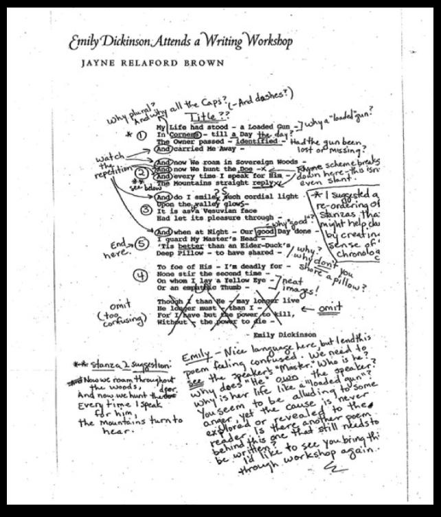 emily dickinson essays novels