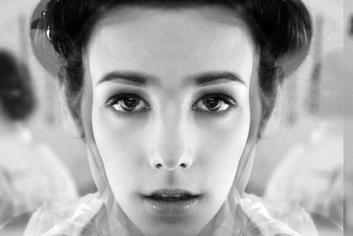 mirror face